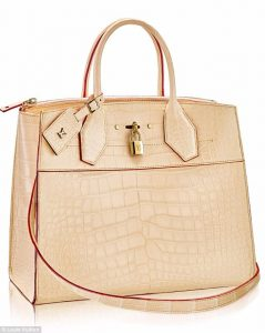 LV Crocodile Skin City Steamer